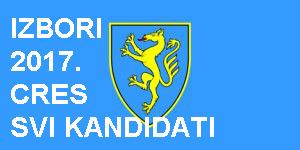 Izbori CS 2017. - liste kandidata