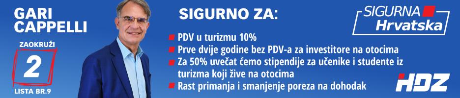 Gari Cappelli - izbori 2020.